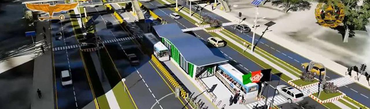 برای اولین بار در افغانستان؛ ساخت دو خط متروبس تا پایان سال آینده در پایتخت