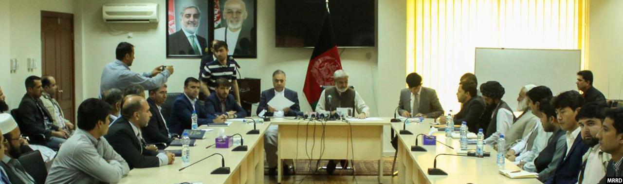 در ۹ ولایت افغانستان؛ امضای قرارداد ۱۲ پروژه راهسازی به ارزش ۵۲۱ میلیون افغانی