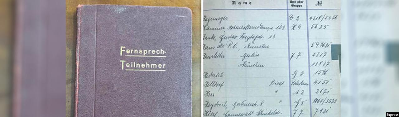 فروش دفترچه تلفن هیتلر با قیمتی نزدیک به ۴۵ هزار دالر