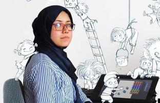 طاهره امینی؛ هنرمند خلاق مهاجر و موفقیت در میان دشواریها در ایران