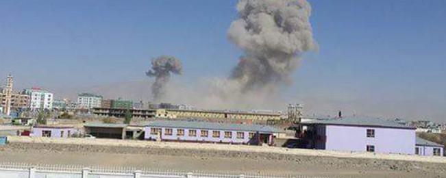 در پکتیا؛ حمله مهاجمان انتحاری بر ساختمان فرماندهی پولیس