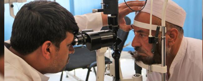 در افغانستان؛ سالانه در حدود ۲۵ هزار تن بینایی خود را از دست میدهند