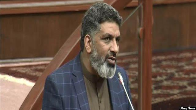 همایون همایون معاون اول مجلس نمایندگان افغانستان