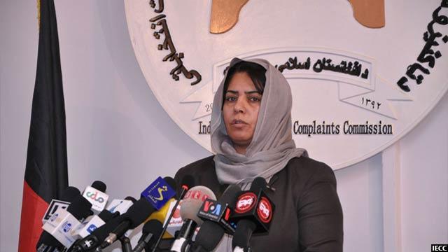 حمیرا حقمل، معاون کمیسیون مستقل شکایات انتخاباتی