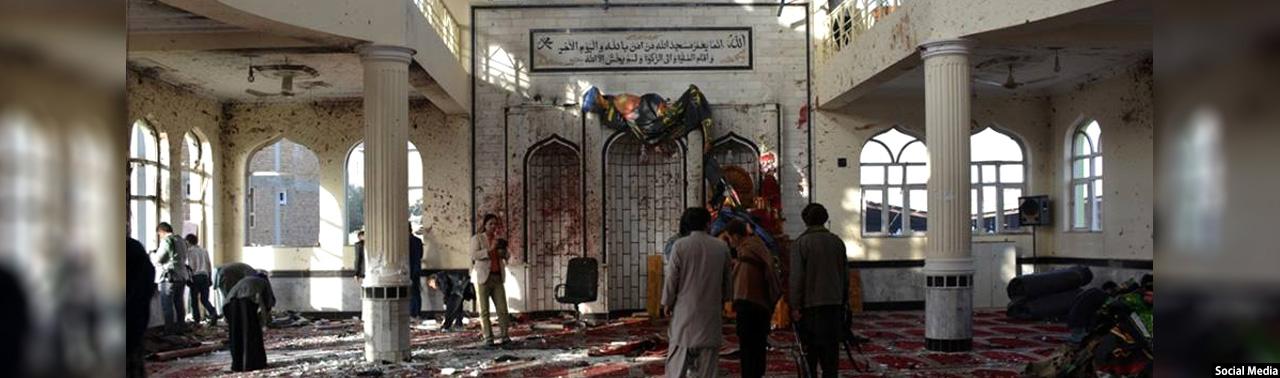 حمله بر مساجد؛ ۶۰ کشته و ۶۰ زخمی در کابل و غور
