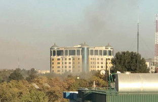انفجار در منطقه دیپلماتیک وزیراکبرخان در شهر کابل