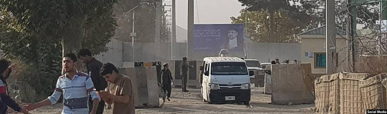 انفجار در ناحیه پنجم شهر کابل