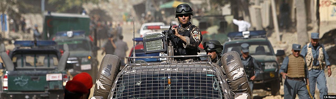 اصابت راکت در شهر کابل