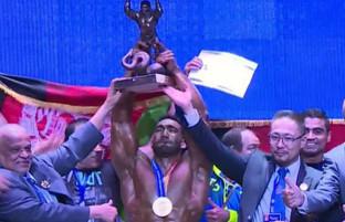 در مغولستان؛ احمد یاسین قادری آقای عضلات جهان شد