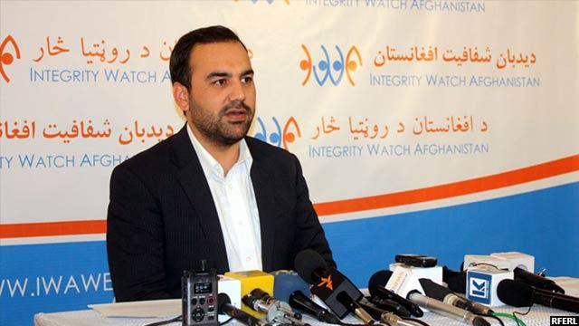 سید اکرام افضلی، رییس اجرایی دیدبان شفافیت افغانستان