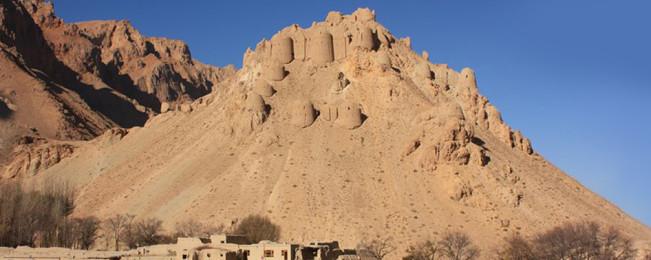 جلوههای درخشان یک تاریخ؛ قلعه چهل برج بامیان، سبک معماری کاشانی و اثر در معرض نابودی