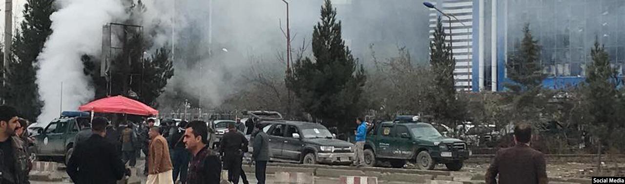 حمله انتحاری در شمال کابل؛ اعضای حزب جمعیت اسلامی هدف گروه داعش بوده است