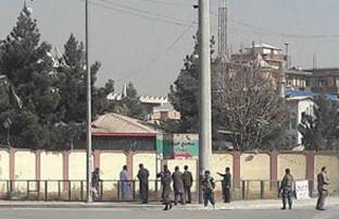 حمله بر شبکه تلویزیونی شمشاد در کابل