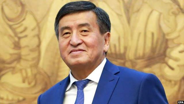 سورنبای جینبکف، رییس جمهور قرغیزستان