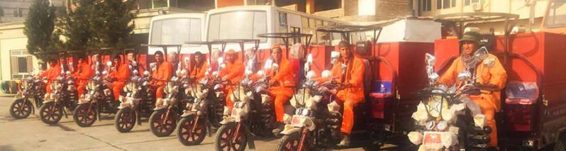 برای کمک به شهرداری کابل؛ خرید ۱۵۰ سهچرخه برای جمعآوری و انتقال زبالههای پایتخت