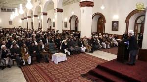 رییس جمهور غنی در دیدار با علما