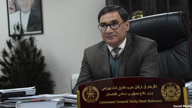 دگر جنرال طارق شاه بهرامی، وزیر دفاع افغانستان