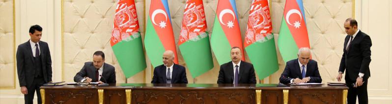 گسترش روابط کابل-باکو؛ امضای ۵ موافقتنامه همکاری در حاشیهی پروسه استانبول