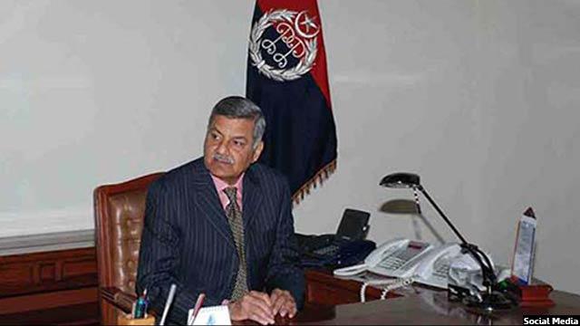 آفتاب سلطان، رئیس سازمان اطلاعات و امنیت پاکستان