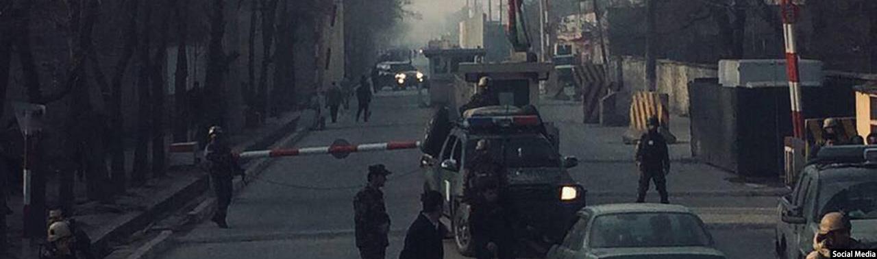 ۵ تن در حمله انتحاری در شهر کابل کشته شدند