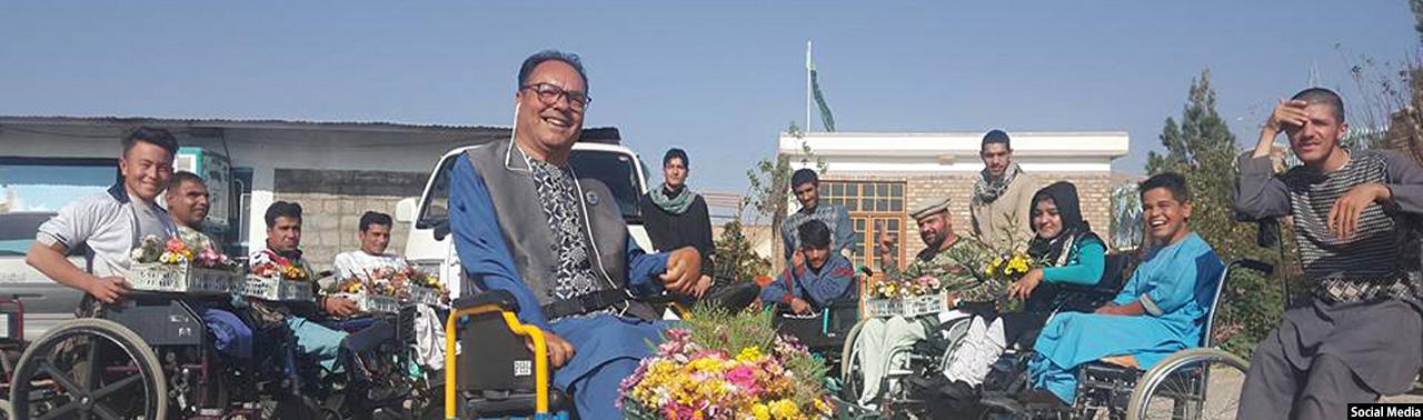 معلول ماندگار افغانستان؛ موسس بنیاد پیرهرات و آغازگر تحول بنیادین زندگی حدود ۳ درصد از جمعیت افغانستان