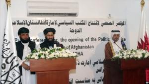 حکومت افغانستان اعلام کرده گزارشهایی را بررسی میکند که ممکن است منجر به بسته شدن دفتر سیاسی طالبان در قطر شود