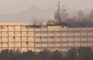 ۵ کشته و ۶ زخمی؛ حمله مهاجمان بر هوتل انترکانتیننتال پس از ۱۲ ساعت پایان یافت