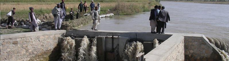 وزارت زراعت افغانستان در سال جدید ۱۴۹ شبکهی آبیاری میسازد