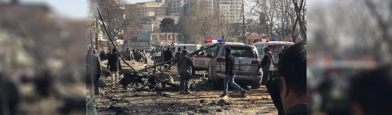 وزارت صحت عامه: در حمله امروز ۴۰ تن شهید و ۱۴۰ تن زخمی شدهاند