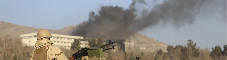 وزارت داخله افغانستان: شبکه حقانی مسوول حمله بر هوتل انترکانتیننتال بوده است