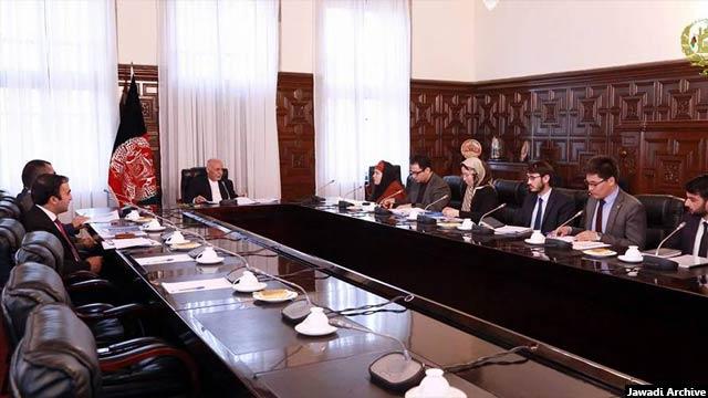 جوادی پیش از این در اداره امور ریاست جمهوری افغانستان در بخش مشاوریت زیربناها کار کرده است