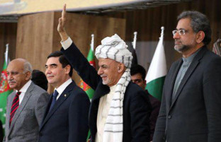 پس از ۲ دهه؛ کار ساخت پایپ لاین تاپی در افغانستان کلید خورد