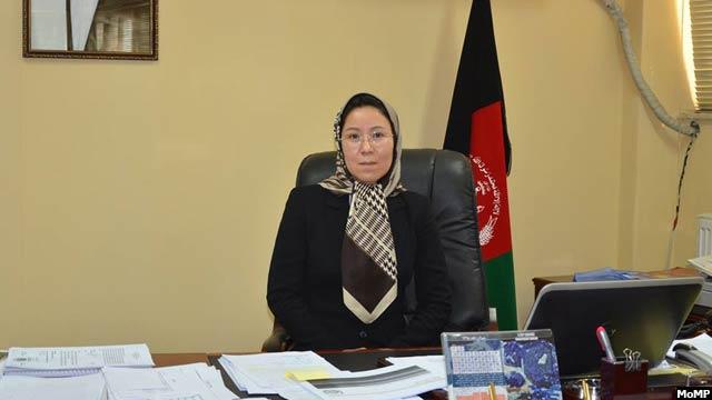 خدیجه جوادی، به تازگی معین تخنیکی وزارت معادن و پترولیم افغانستان تعیین شده است