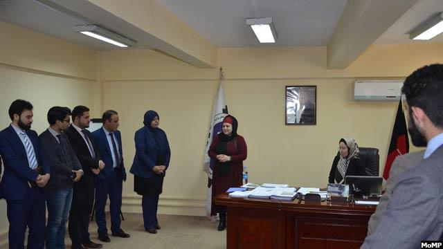 خدیجه جوادی درحکمی توسط رییس جمهورغنی بهعنوان معین فنی وزارت معادن و پترولیم تعیین شد