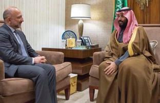 دیدار حنیف اتمر با ولیعهد عربستان؛ از صلح و مبارزه با تروریزم تا همکاریهای اقتصادی