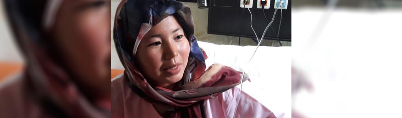 پاسخ بذر مهربانی؛ شاه جهان تک دختر مادر مهاجر افغان و داستان نجات یک زندگی سرطانی