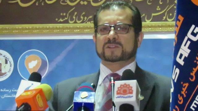 احمدشاه سادات، معین تخنیکی وزارت مخابرات و تکنالوژی معلوماتی افغانستان