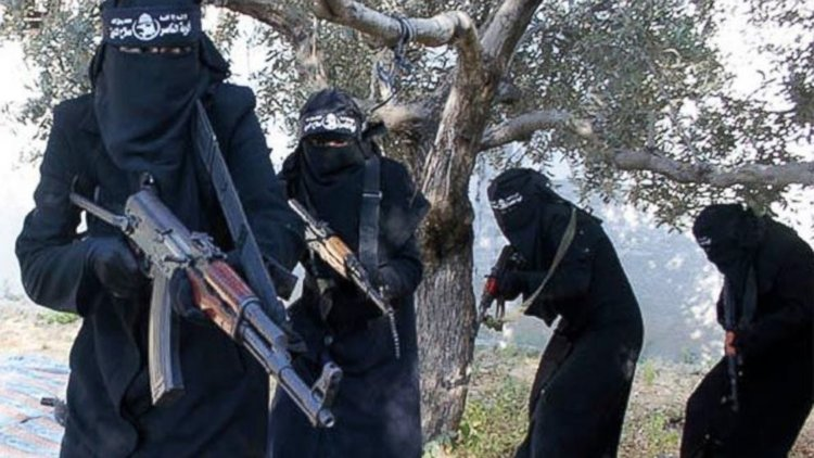 ISIS women fighters