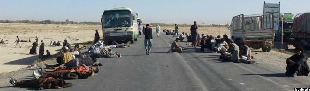 دعوای آب در قرباغ غزنی؛ گروگانگیری، قتل و بستن شاهراه کابل-قندهار به دستور طالبان