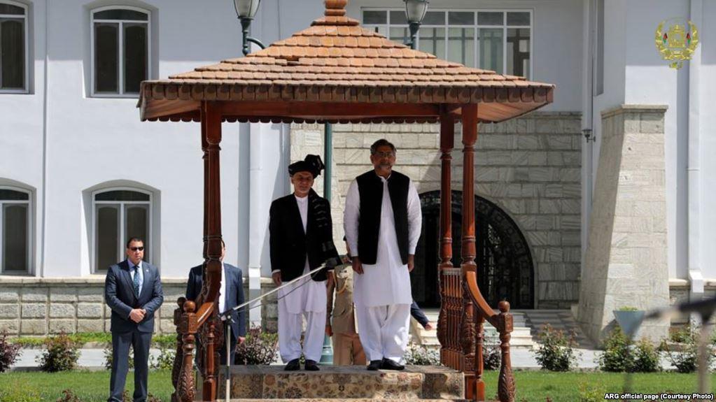 Khaqan abasi and ashraf ghani