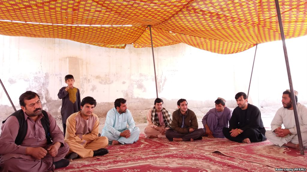 Helmand protesters