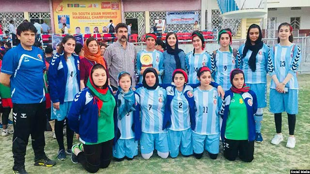 Afghan-women-handball-team