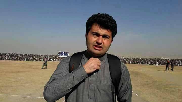 Ahmad shah BBC reporter