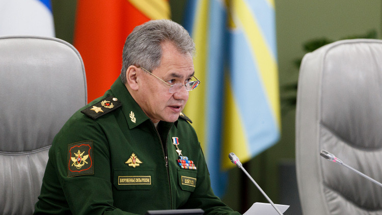 Russia minister of defense
