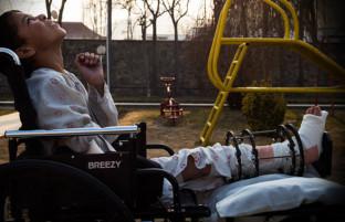 برکتالله ۱۳ ساله؛ معلول جنگی با روحیه و امیدوار به آینده