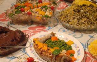 گوشت، روغن و برنج؛ مواد غذایی پرطرفدار هر سفره افغانی