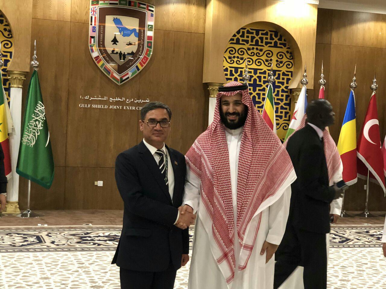 gen tariq shah bahrami and mohammad abn salman