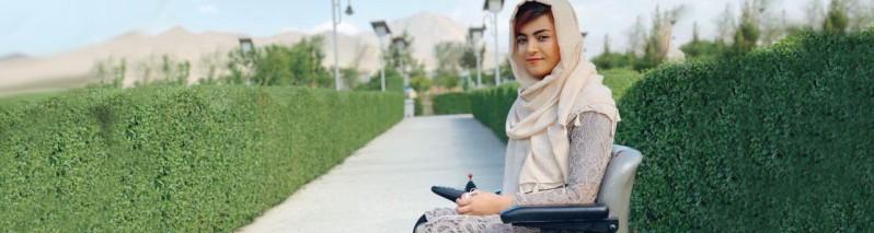 برشنا موسی زی؛ معلول فلج کودکان و مجروح حمله دانشگاه آمریکایی ملاله یوسف زی افغانستان خواهد شد؟