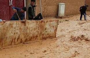 نگرانی از وقوع سیلاب های بیشتر؛ باران بهاری همراه با طوفان پس از زمستان خشک افغانستان