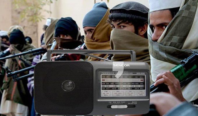 Taliban and radio